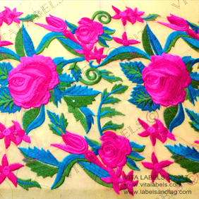 Scarf  Embroidery